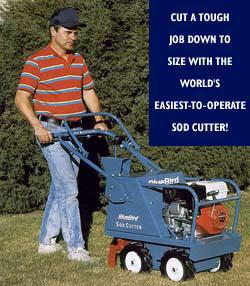 manual sod cutter rental home depot