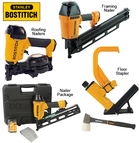 Stanley Bostitch Nailers