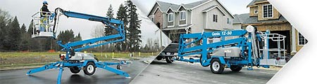 Genie Trailer Mounted Booms