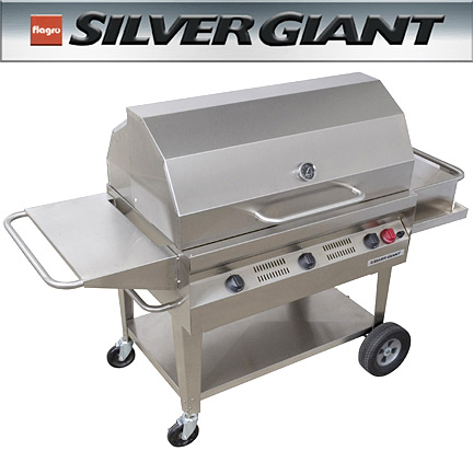 Silver Giant BBQs